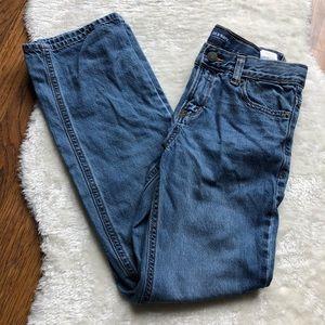 Boys Straight leg slim fit adjustable jeans 14